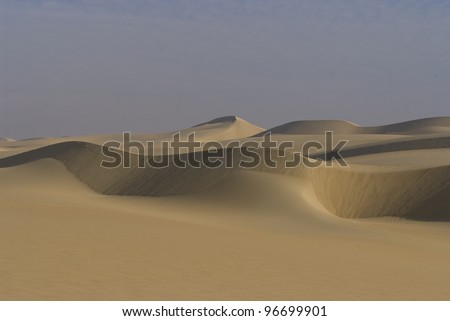 Desert patterns - stock photo