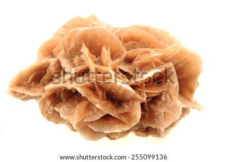 desert rose mineral  - stock photo