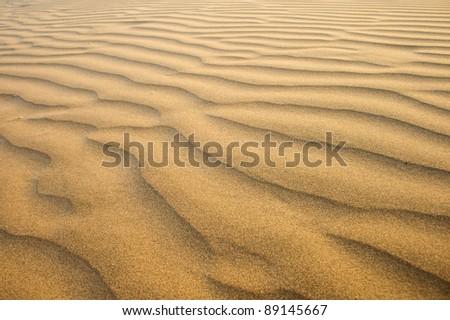 Desert sands - stock photo