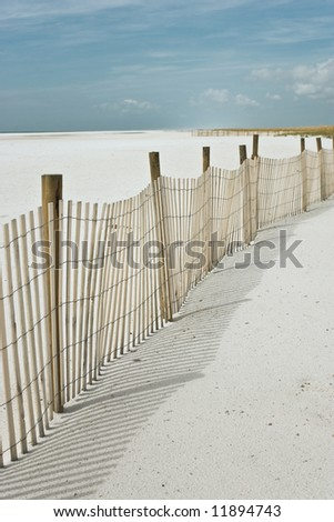 Deserted beach, sand and sky, abstract natural travel background
