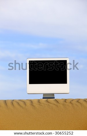 Deserted Computer