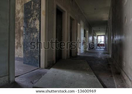 Deserted House - stock photo