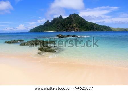 Deserted Island - stock photo