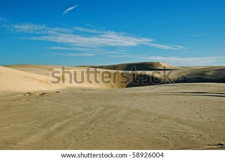 Deserts & sandunes 10, sandune and desert scenes from Australia - stock photo