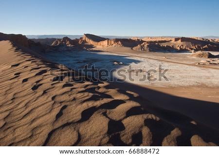 Desierto de Atacama. Chile. - stock photo
