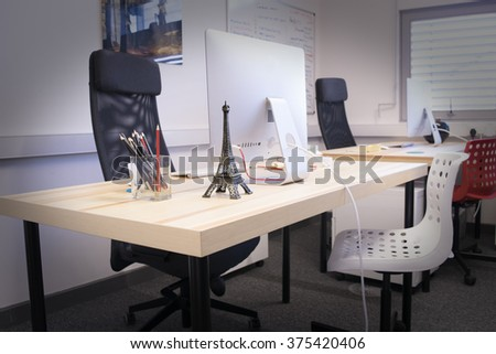 Design Agency Interior - Web Designer Desk