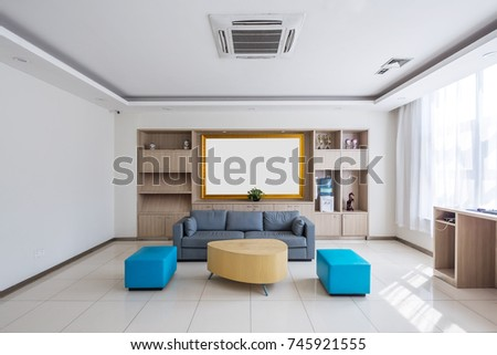 Design And Decoration Of Modern Living Room