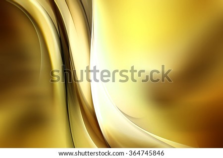 Design Art Gold Abstract Background - stock photo
