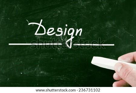 design concept - stock photo