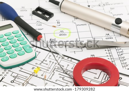 Design of electronic project