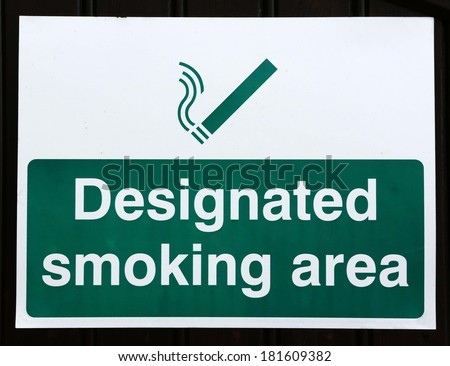 Designated Smoking Area Stock Photos, Royalty-Free Images ...
