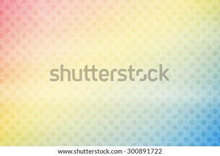 designed abstract background ,gradient color white grunge paper texture and polka dot - stock photo
