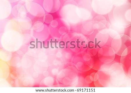 designed colorful bokeh background - stock photo