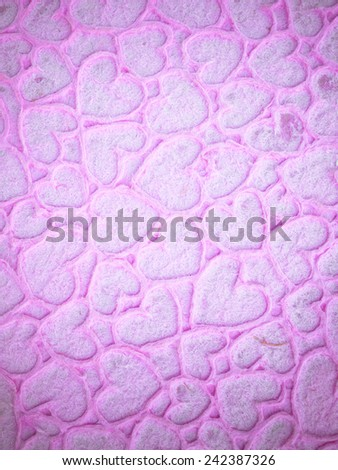 Designed detailed paper textured background. High resolution recycled colorful white and pink cardstock. - stock photo
