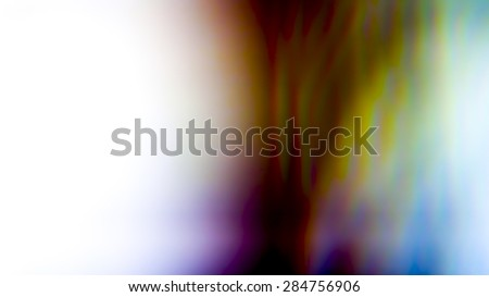 Designed film texture background with heavy grain, dust and a light leak. - stock photo