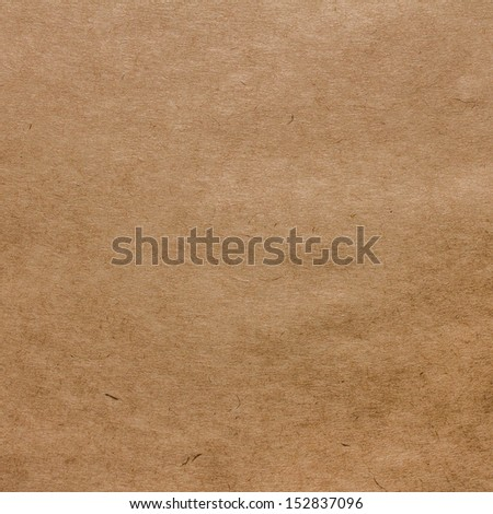 Designed grunge brown natural recycled paper texture, background - stock photo