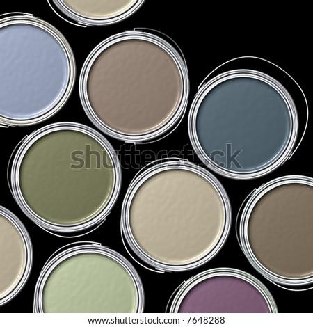 Designer Colors - stock photo