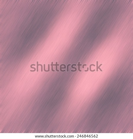 Designer image feed of metal brushed  panel, with dimmed regions and pink color burning hot iron background - stock photo