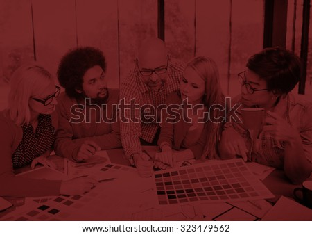 Designers Team Creative Occupation Working Planning Concept - stock photo