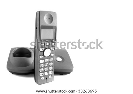 Desk Phone - stock photo