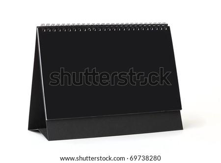 Desktop calendar - stock photo