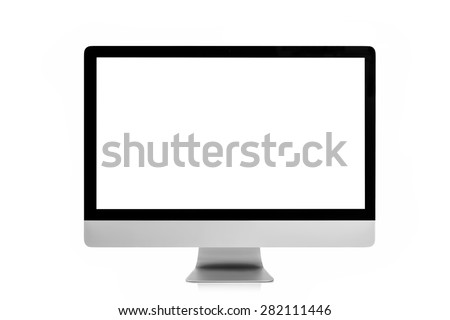 Desktop computer - stock photo