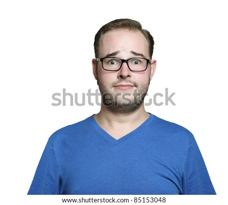 desperate - stock photo
