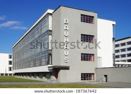Dessau Bauhaus  - stock photo