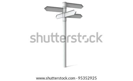 destination sign - stock photo