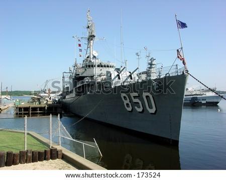 Destroyer Joseph P. Kennedy Jr. - stock photo