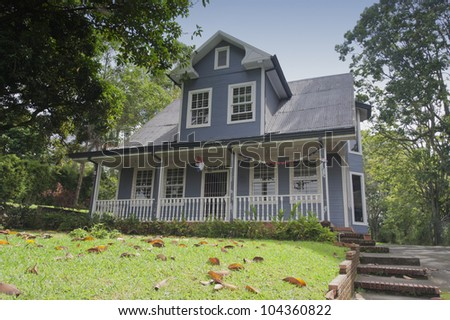 Detached house in Costa Rica - San Jose, Costa Rica - stock photo