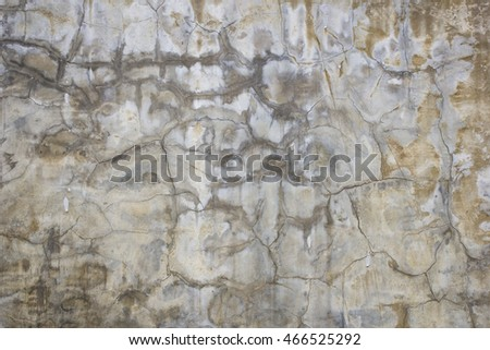 Detail and texture of a cement wall. Abstract background.