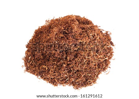 Detail of a pile of snuff pipe - stock photo
