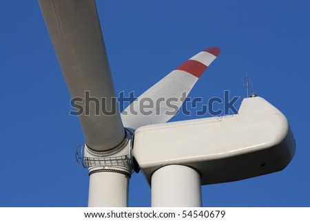 detail of a wind generator