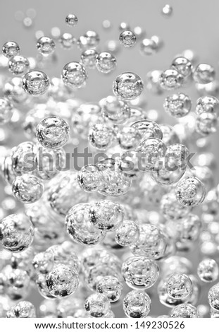 Detail of abstract bubble, can be used for background - stock photo