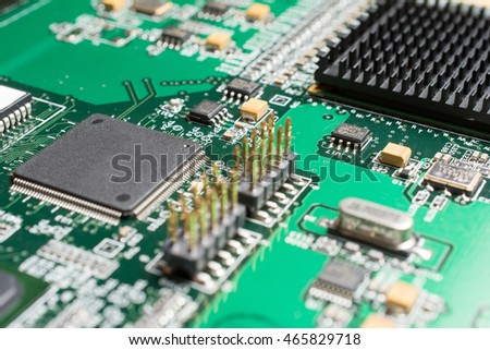 detail electronic printed circuit board many stock photo royalty rh shutterstock com
