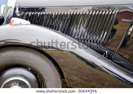 detail of an oldtimer