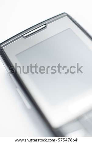 Detail of Cell Phone - stock photo