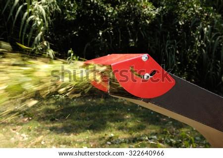 detail of crusher garden  - stock photo