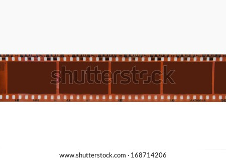 Detail of photography film - stock photo