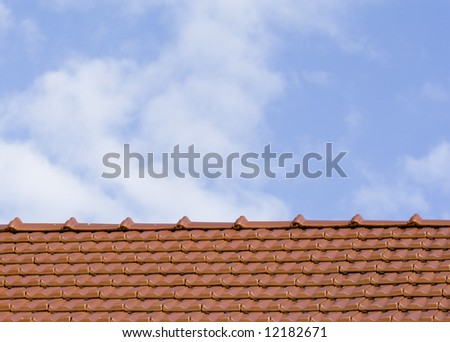 Detail of roof