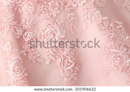 detail of wedding dress texture