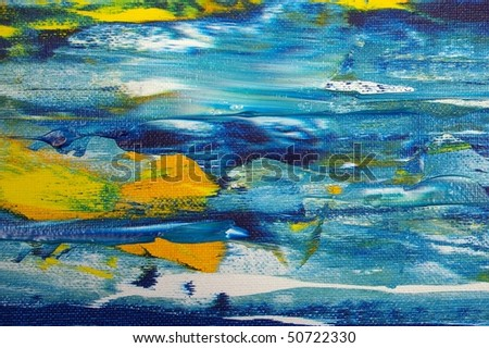 detail original artwork oil painting on stretched canvas for backdrop giclee texture