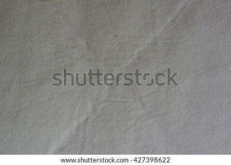 detailed macro shot of canvas creating pattern - stock photo