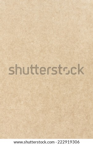 Detailed Texture of Kraft Paper, Top View. Vintage Background - stock photo
