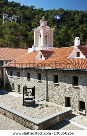 Details from Kykkos monastery ,Cyprus - stock photo