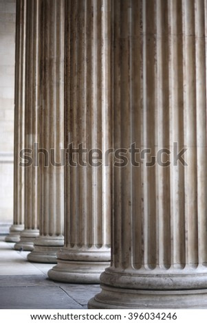 Details of ancient Greece architecture