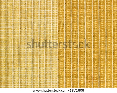 Details of flax table napkin two, close-up - stock photo