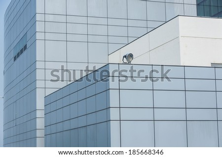 Details of modern office building  - stock photo
