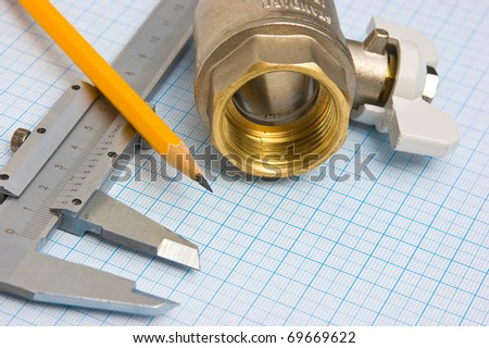 details of the pipeline on the graph paper